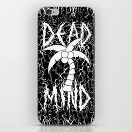 Dead Mind, Black iPhone Skin