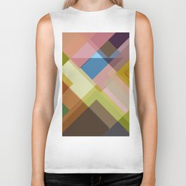 Abstract Composition 634 Biker Tank