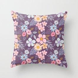 Roses 7780 Throw Pillow
