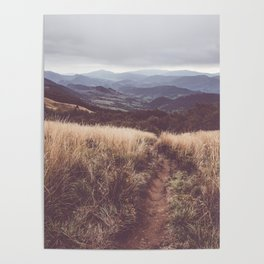 Bieszczady Mountains - Landscape and Nature Photography Poster