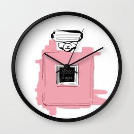 Pink perfume #6 Wall Clock