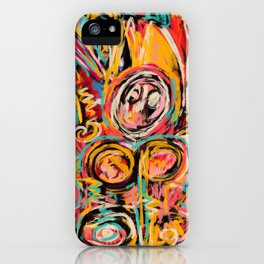 The Force within Street Art Expressionist iPhone Case