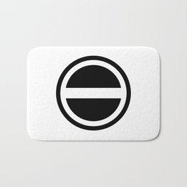 Curtis Holt Logo (Black) Bath Mat