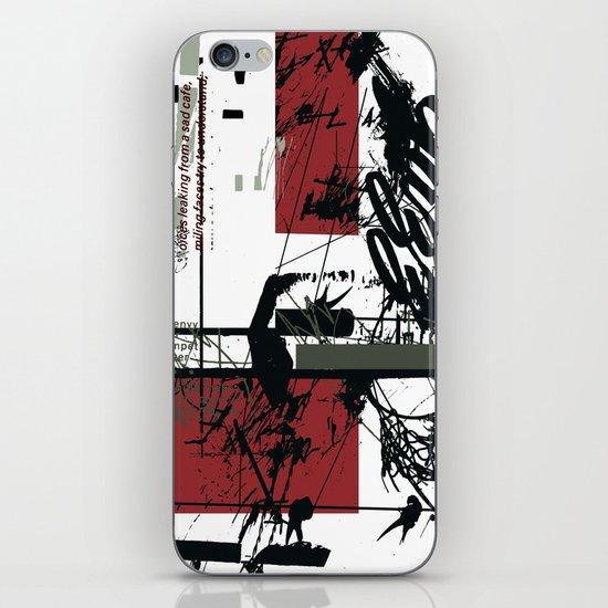 jazz iPhone & iPod Skin
