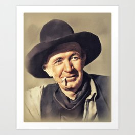 Walter Brennan, Actor Art Print