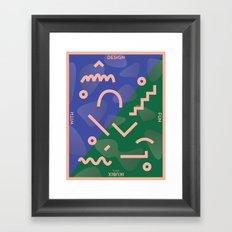 Design With Fun ~ chapter 01 Framed Art Print