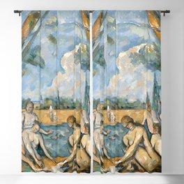 Paul Cézanne - Les Grandes Baigneuses (The Large Bathers) Blackout Curtain