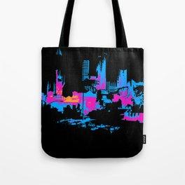 Las Vegas Cityscape Tote Bag