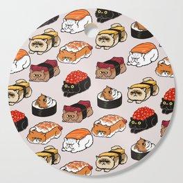 Sushi Persian Cat Cutting Board