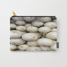 White RADish Carry-All Pouch