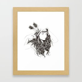 Beautiful Chaos Framed Art Print