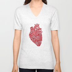 Lonely hearts Unisex V-Neck