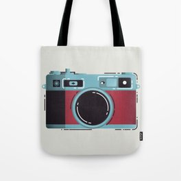 Little Yashica Camera Tote Bag