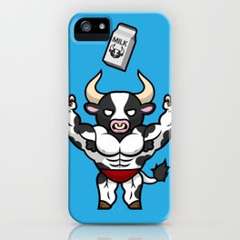 Frank the Fit Friesian iPhone Case