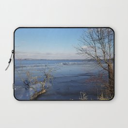 More Than Seven Swans A Swimming And A Sitting On The Second Day Before Christmas Laptop Sleeve
