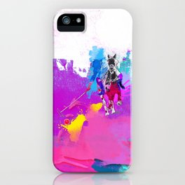 polo abstract iPhone Case