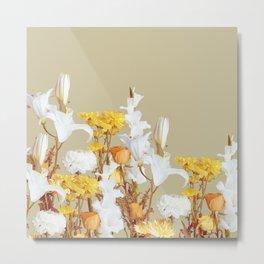 Autumn Floras Bouquet Metal Print