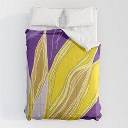 Leaflet's Descent Comforters