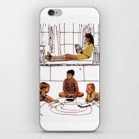 moonrise kingdom iPhone & iPod Skins featuring moonrise kingdom by sharon