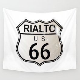 Rialto Route 66 Wall Tapestry