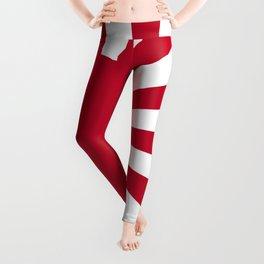 Japanese Flag Leggings