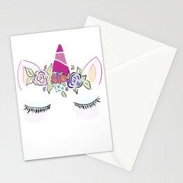 Sleepy Unicorn Stationery Cards