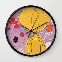 Hilma Af Klint Wall Clock