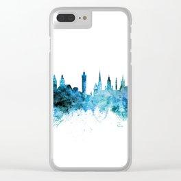 Glasgow Scotland Skyline Clear iPhone Case