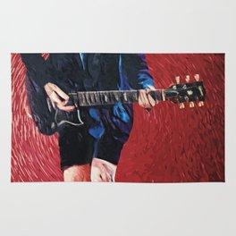 Angus Young Rug