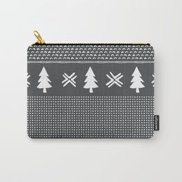 Evergreen in Gray Carry-All Pouch