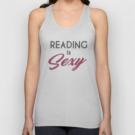 Reading is Sexy_simple Unisex Tank Top