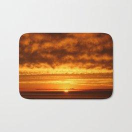 Sunset at the Beach Bath Mat