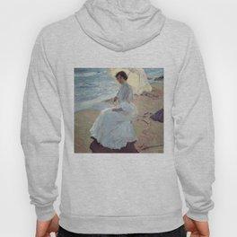 Clotilde on the Beach - Joaquín Sorolla Hoody