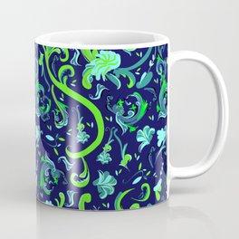 Swirly Trendy_Blue Coffee Mug