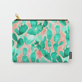 Paddle Cactus Blush Carry-All Pouch