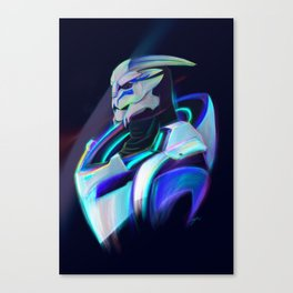 NEON Tiran Kandros Fan Art Canvas Print