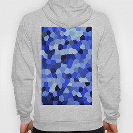 Geometric Blues Hoody