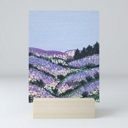 Lilac Fields Mini Art Print