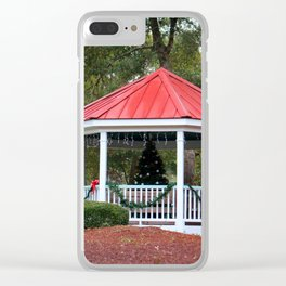 Village Christmas Clear iPhone Case