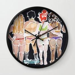 Kinky Crew Wall Clock
