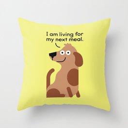 Feeding Disorder Throw Pillow