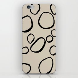 Daisy Circles iPhone Skin