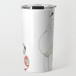 BB8 Meets Baymax Travel Mug
