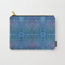 Blue Ice Weavery Temple Carry-All Pouch