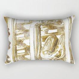Trumpet Art Rectangular Pillow