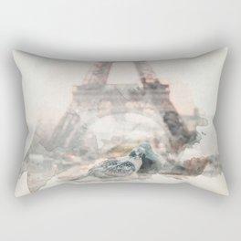 Love in paris Rectangular Pillow
