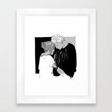 Comfort Framed Art Print