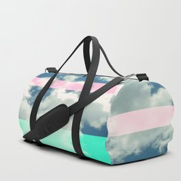 Rainbow Fluff Duffle Bag