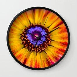 Pretty flower Wall Clock