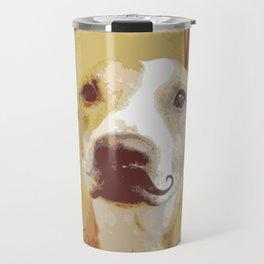 I Mustache You a Question II Travel Mug